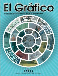 Portada Revista El Gráfico, Septiembre 2016